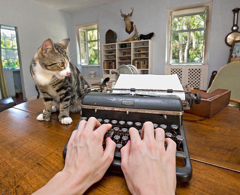 Keys Voices Win A Chance To Write In Hemingway 39 S Key