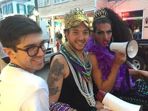 Key West Duval Street drag queens