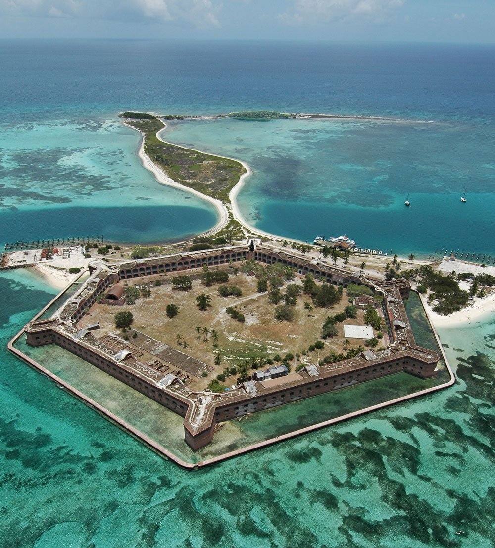 Keys voices explore keys national parks during park service s 100th birthday keys voices for Garden key dry tortugas national park