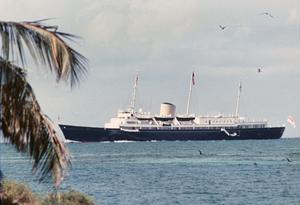 Queen Elizabeth yacht