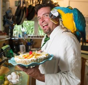 David Sloan Key liime pie parrot
