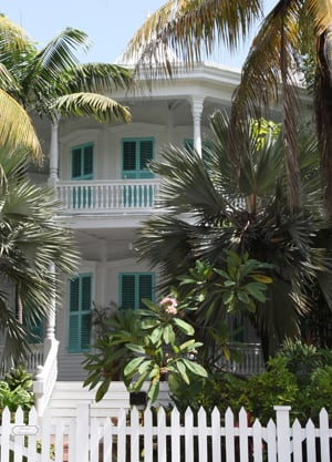 Calvin Klein house Key West