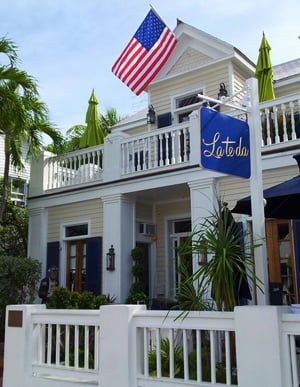 Key West's legendary La Te Da is a prime example of a structure renovated into a world-class inn. (Photo courtesy of La Te Da)