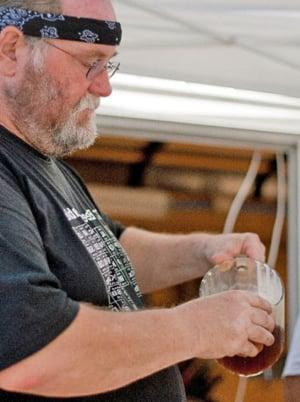 Key West brewmaster Jim Brady