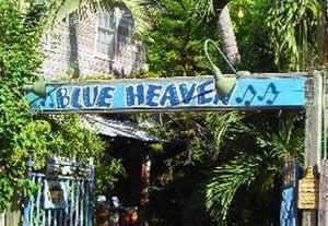 Blue Heaven Key West gate