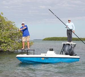Flats fishing off Islamorada