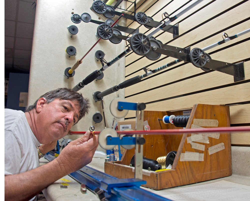 Captain Randy Towe Florida Keys fishing rods