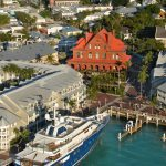 Key West Custom House and harbor