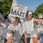 Key West Fantasy Fest Marchers