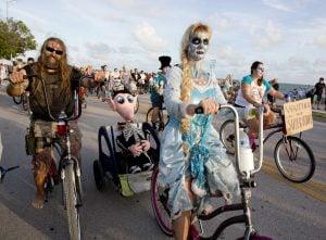 Zombie Bike Ride Key West