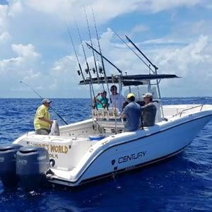 Fishing boat Florida Keys Marathon