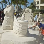 sand sculptors beach Key West