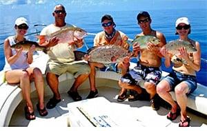family fishing Florida Keys