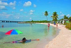 Bahia Honda State Park beach Florida Keys
