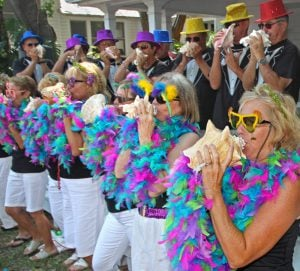 Key West Conch Shell Blowing Contest