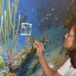 Upper Keys marine life artist