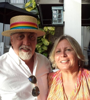 Gilbert Baker and Heather Carruthers