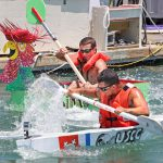 Minimal Regatta Key West paddle battle
