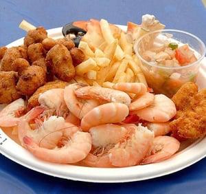 Florida Keys shrimp dish