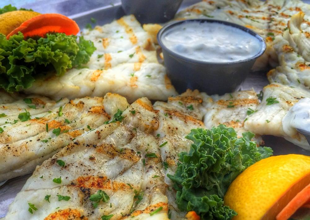 Florida Keys fish dinner