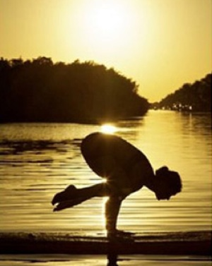 Paddleboard yoga Florida Keys