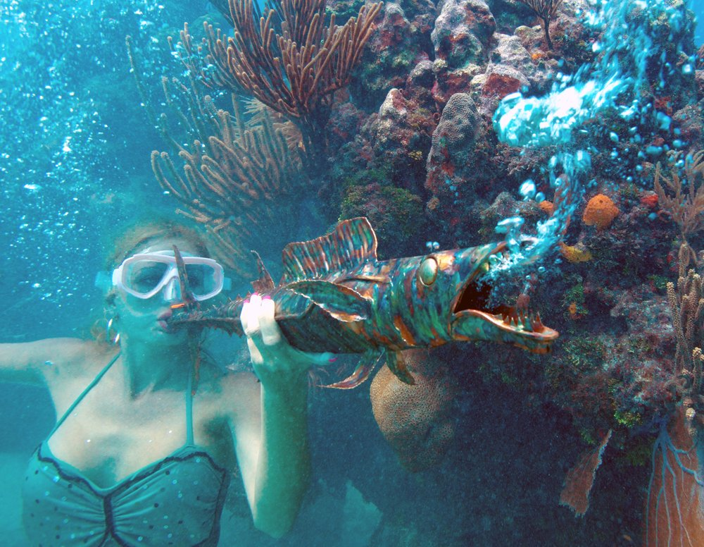 mermaid at Underwater Music Festival