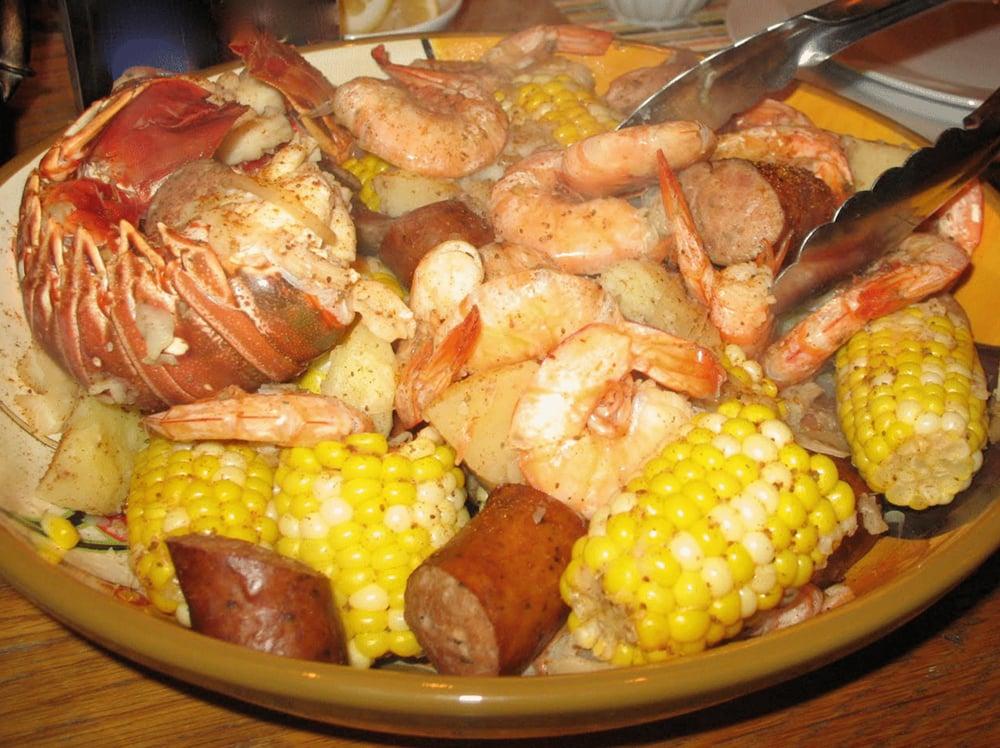 Florida Keys lobster boil