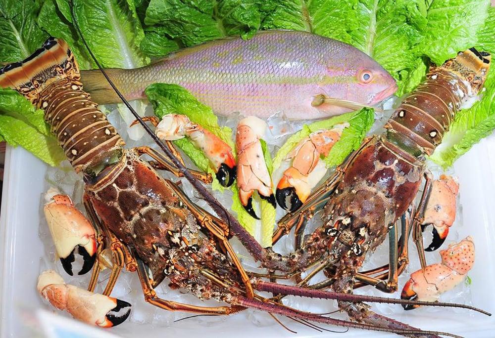 Florida Keys seafood