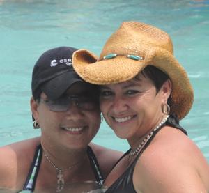 Womenfest Key West couple