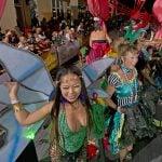 Fantasy Fest float Key West