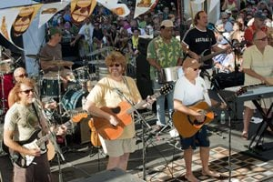 Jimmy Buffett and Coral Reefer band Key West