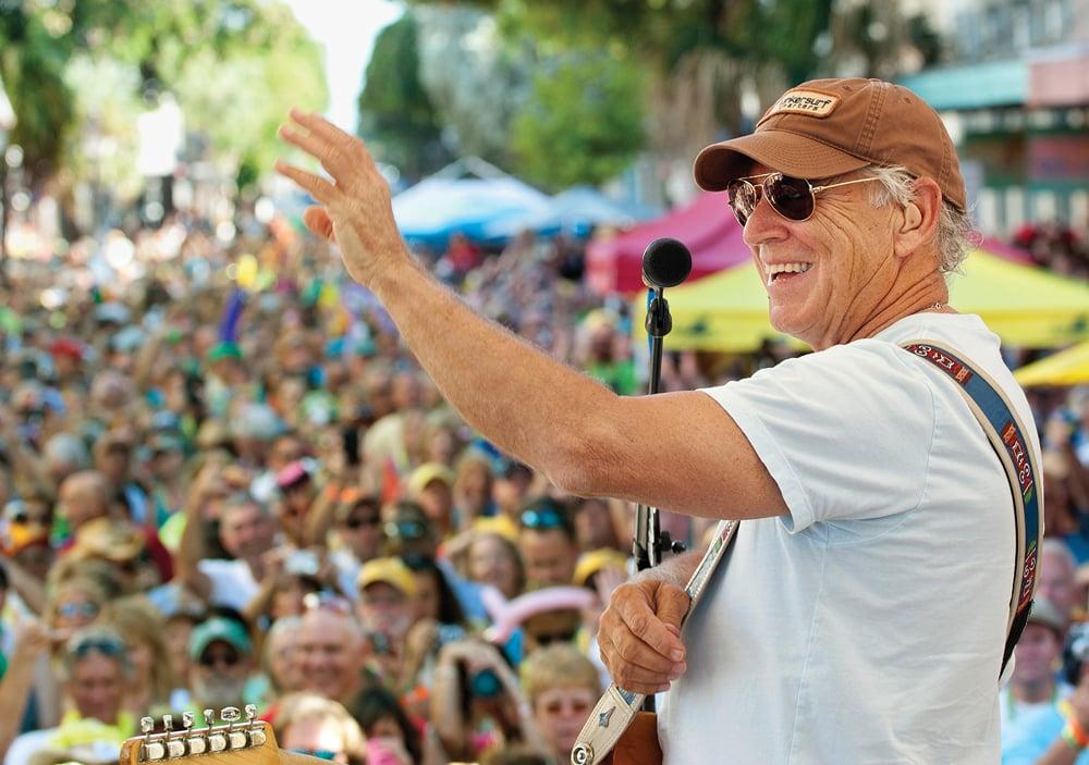 Jimmy Buffett Key West concert