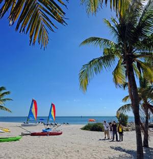 Smathers Beach Key West