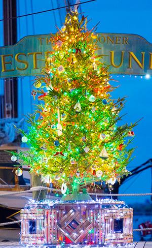 Seafaring Christmas tree Key West