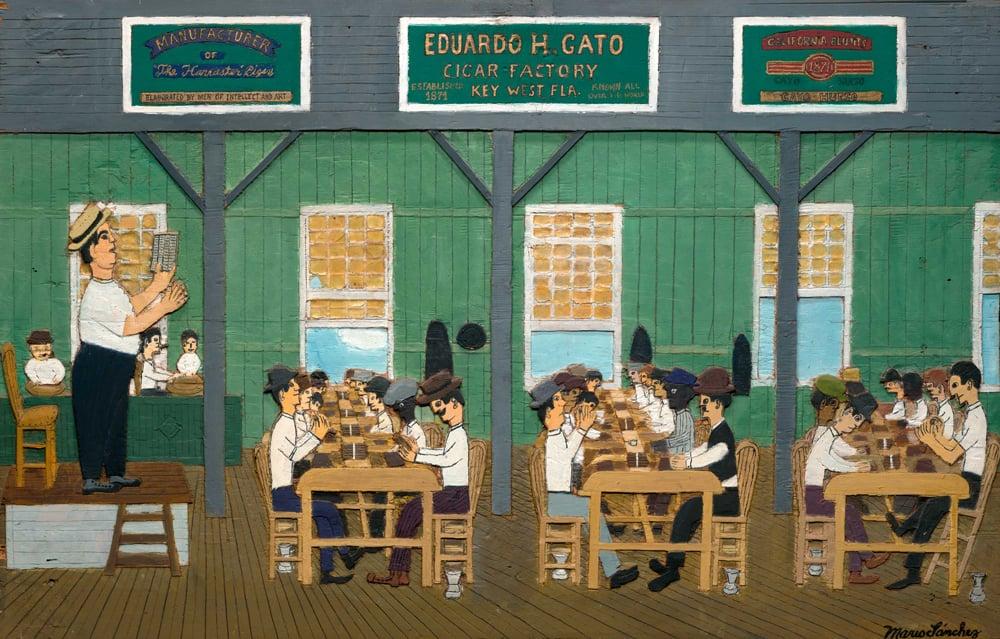 Mario Sanchez Smithsonian Key West art