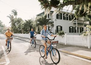 Key West bicycling