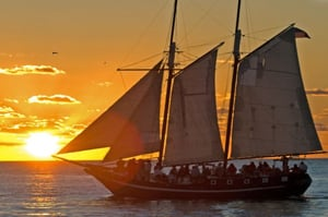 Schooner Wolf Key West Sunset