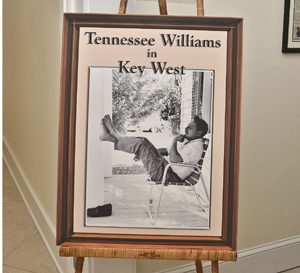 Tennessee Williams in key West