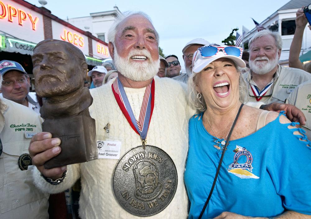 Michael Groover Paula Deen Hemingway Look-Alike