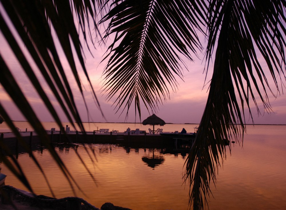 Upper Florida Keys sunset