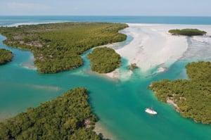 Lower Florida Keys aerial