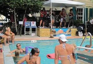 Womenfest Key West pool party