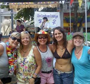 Women at Key West's Womenfest