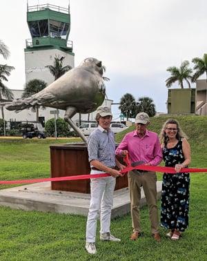 Florida Keys Sculpture Trail ribbon cutting