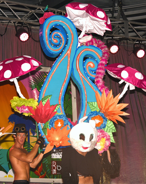 Fantasy Fest Headdress Ball Key West