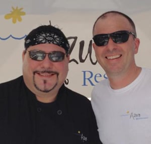 Two chefs in Key West