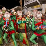 Key West Fantasy Fest space creatures