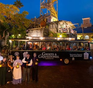 haunted trolley tour Key West