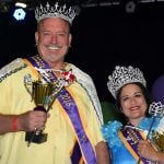 Fantasy Fest king and queen Key West