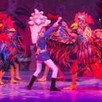 Nutcracker Key West rooster scene
